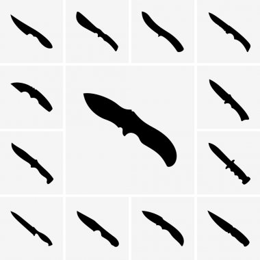Knife icons