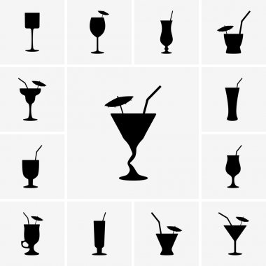 Cocktail icons