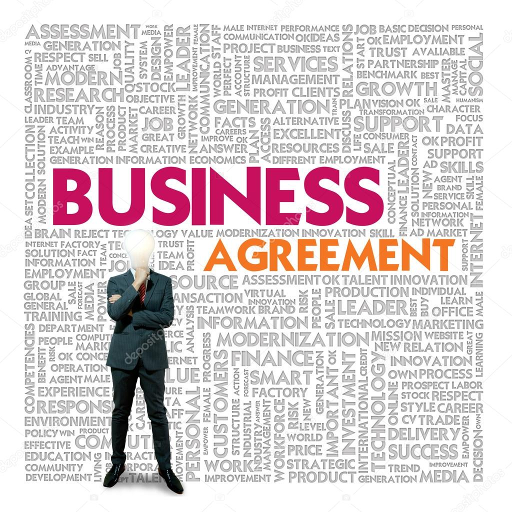 Business-Wort-Wolke für Wirtschaft und Finanzen-Konzept, Business ...