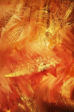 TEXTURE OFF OIL PAINTING