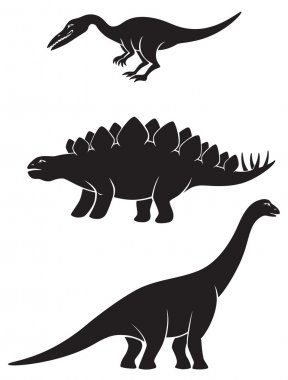 Figure depicts the dinosaurs