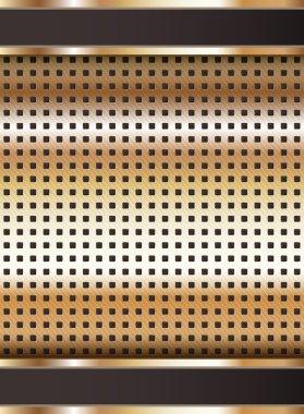 Background template, copper metallic texture