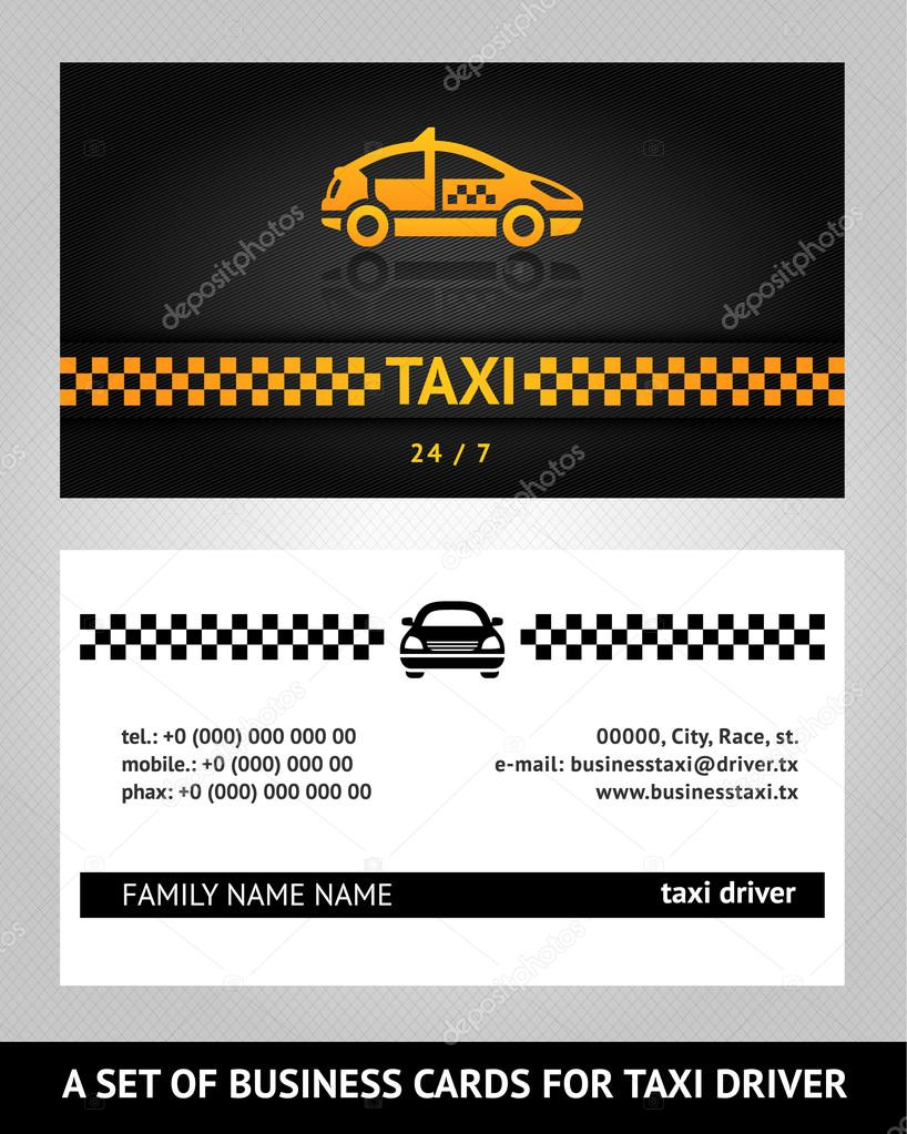 Business cards taxi cab stock vector ecelop 13411346 business cards taxi cab stock vector 13411346 magicingreecefo Image collections
