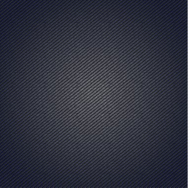 Striped fabric surface for blue background