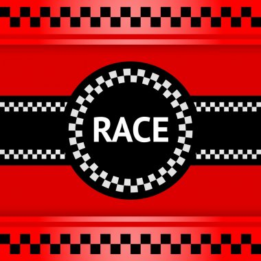 Racing background, square