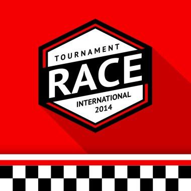 Racing badge 07