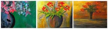 """Картина, постер, плакат, фотообои """"цветочные коллекции картина пейзаж художники все"""", артикул 29742895"""