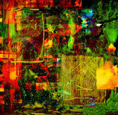 Fotografie Abstract Oil painting