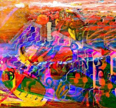 "Картина, постер, плакат, фотообои ""живопись"", артикул 34658199"