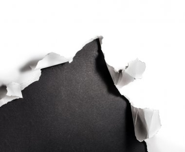 Paper hole.
