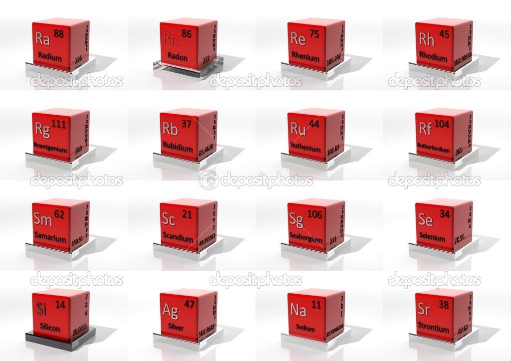 3d elementos qumicos de la tabla peridica fotos de stock 3d elementos qumicos de la tabla peridica foto de viperagp urtaz Gallery