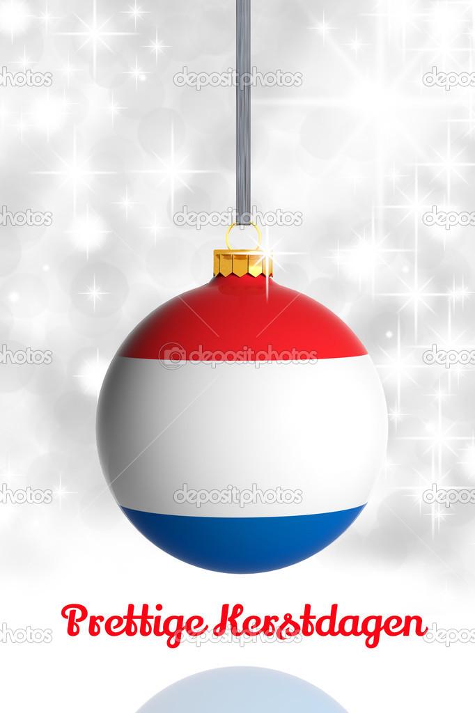 feliz natal da holanda bola de natal com bandeira fotografias de stock viperagp 31175093. Black Bedroom Furniture Sets. Home Design Ideas
