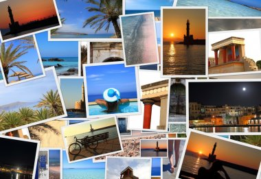Collection of Crete island photos