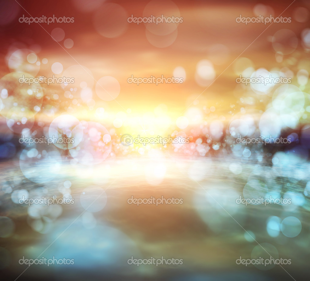 Abstract nature sunset background