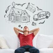 Fotografie hypoteční a úvěrové koncept