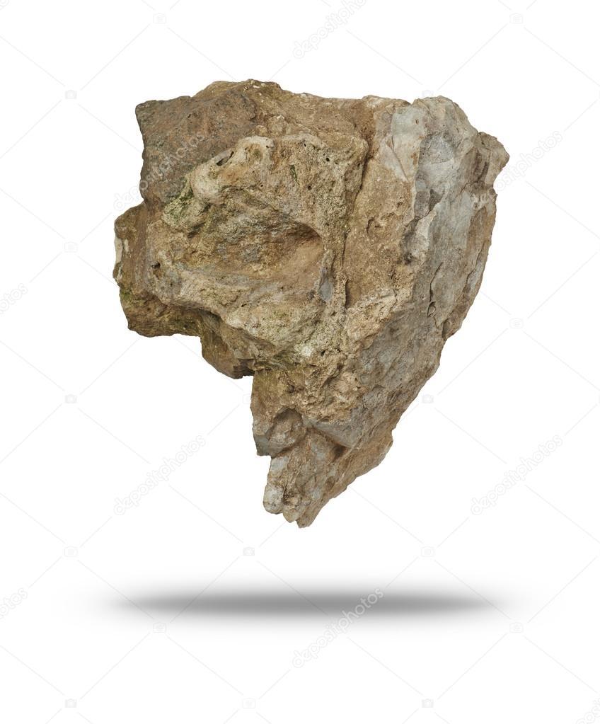 big rock floating