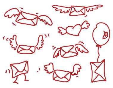 Winged envelopes