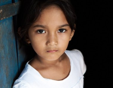 Young Asian girl portrait