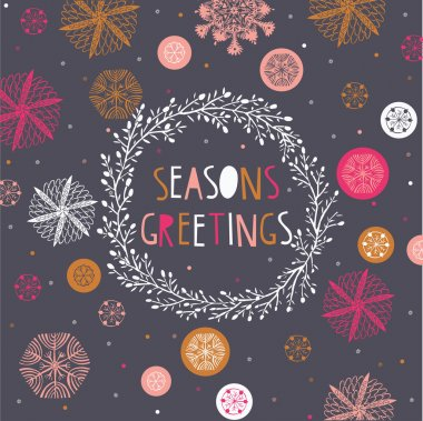 Seasons Greetings Print Design