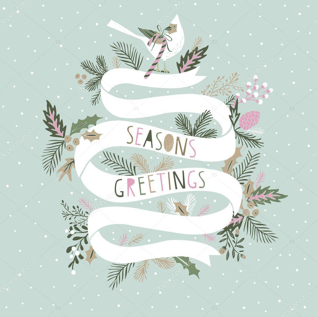 Seasons Greetings Card Design