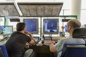 Flug-Controller arbeiten