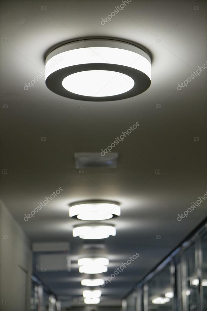 Office Ceiling Lights Stock Photo C Agiampiccolo 48451621