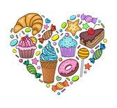 Fényképek édességek