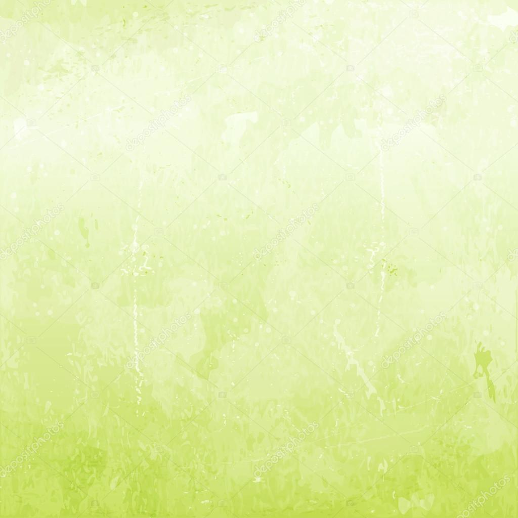 Green grunge background, vector