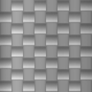 Brushed metal geometric pattern
