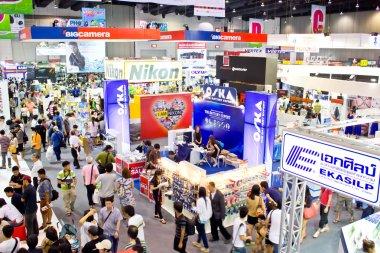 BANGKOK, THAILAND - DEC 2 : Nikon booth showing their new techno