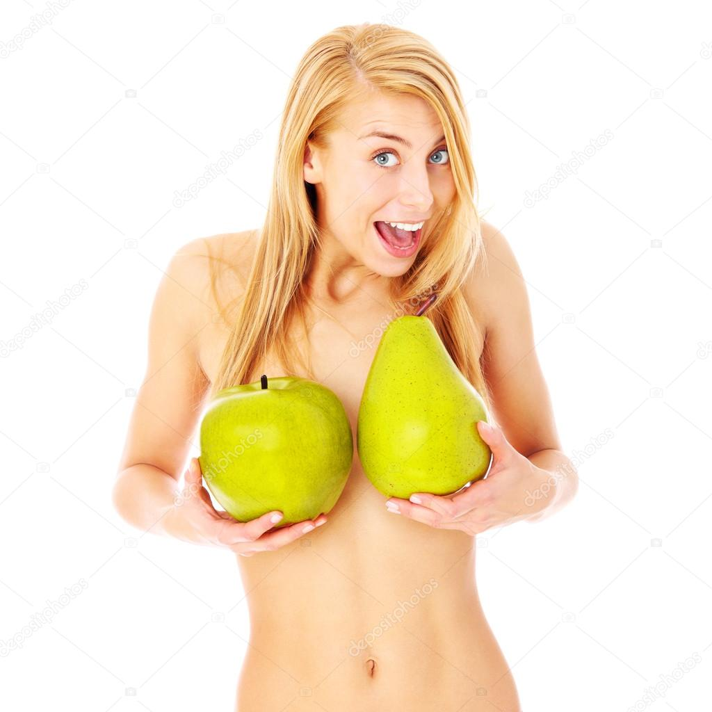 Women pose topless with watermelons following complaints