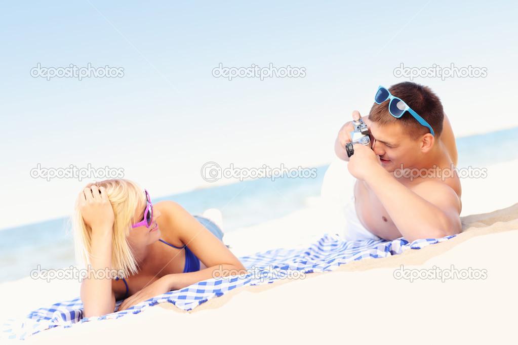 Приколы секс на пляже фокс