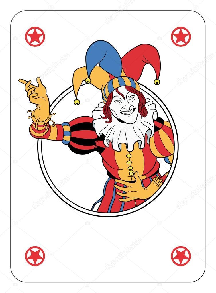 Joker Kart Do Gry Grafika Wektorowa C Mannaggia 39492933
