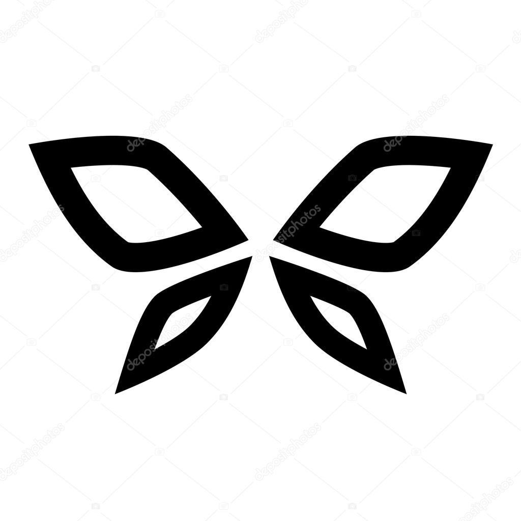 Black butterfly icon stock vector cidepix 35466003 black butterfly icon stock vector biocorpaavc Image collections