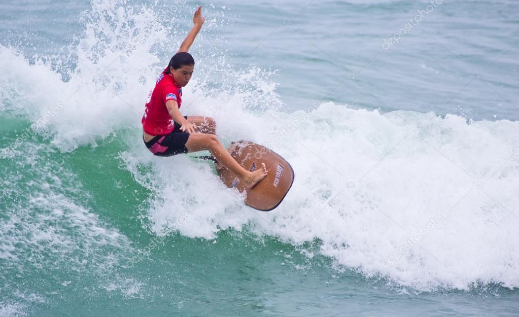 Anissa Flynn in Quiksilver Open Phuket Thailand 2012