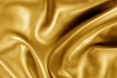 Gold fabric texture