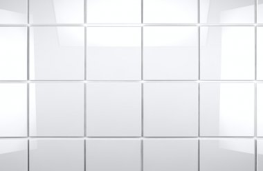 Tile wall bathroom