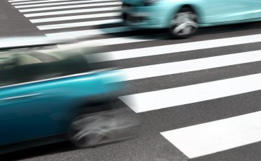 Car and road safety concept