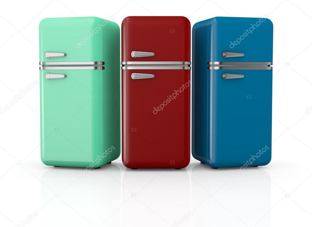 Retro Kühlschrank Italien : Vintage kühlschrank u stockfoto lucadp