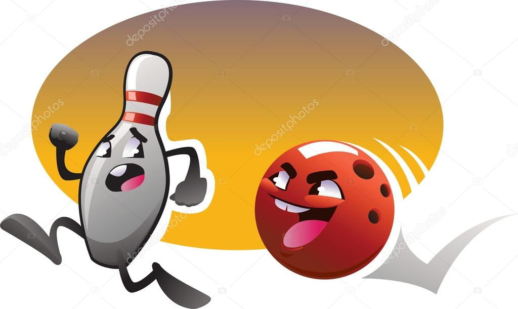 Bowling dessin anim image vectorielle caramelina 12765831 - Bowling dessin ...