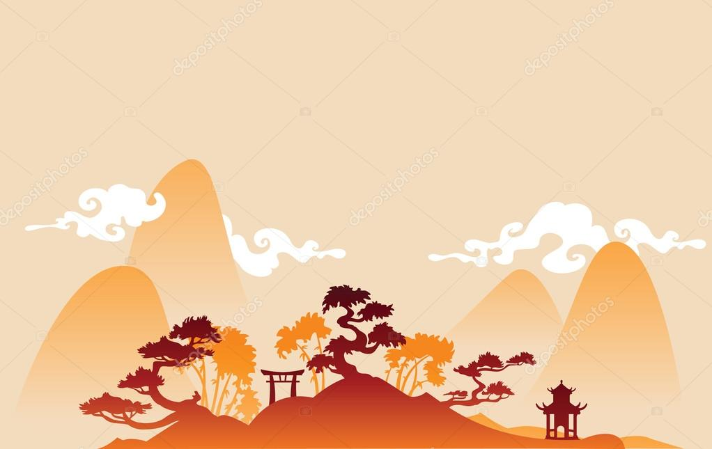 Chines landscape