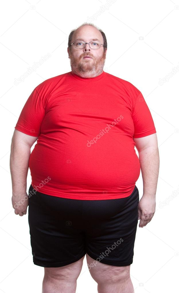 Very Obese Man — Stock Photo