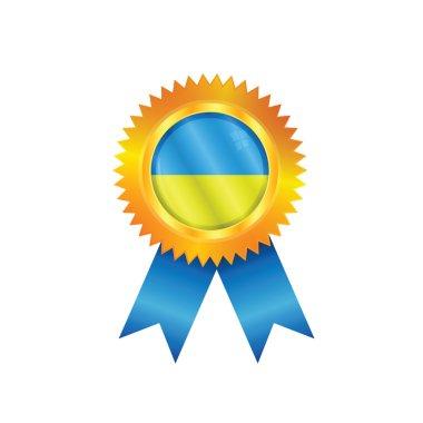 Ukraine medal flag