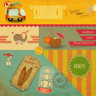 Retro Summer Card