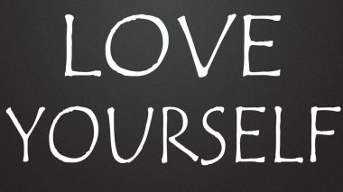 love yourself symbol