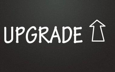 upgrade sign