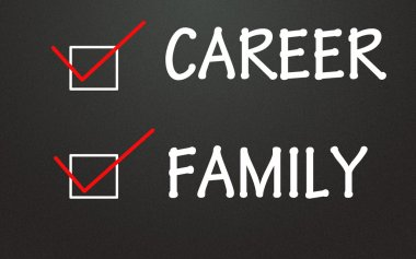 career and family choice