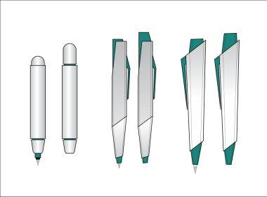 Vector ballpoint design
