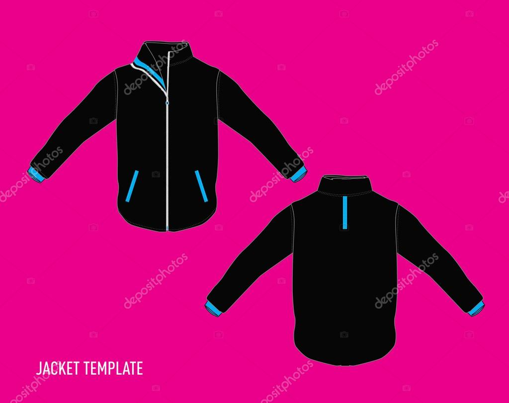 jacket design template stock vector rebermant 28476123