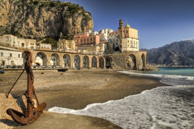 Atrani : italian fishing village Amalfi coast